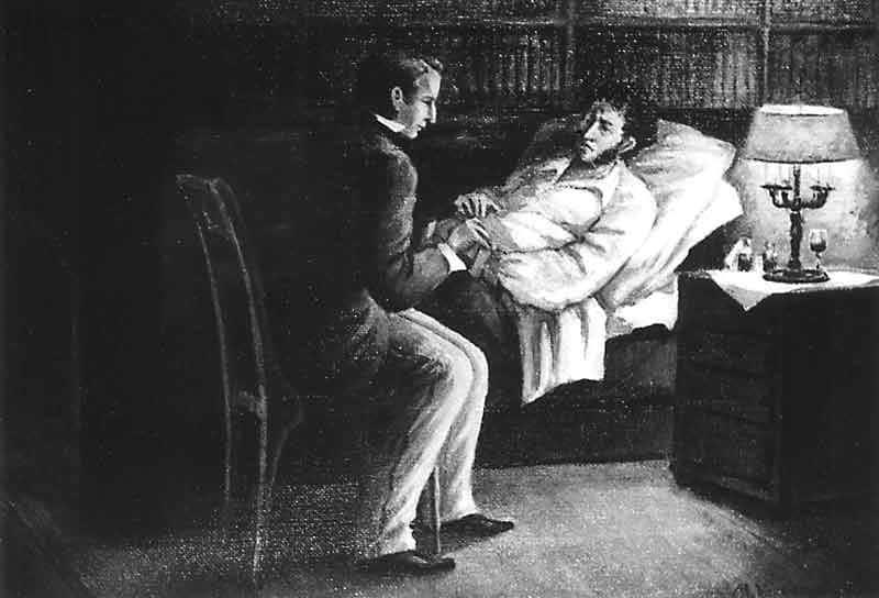 Владимир Даль у смертного одра Пушкина