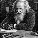Дмитрий Менделеев за работой