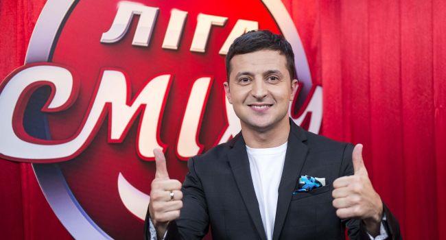 Владимир Зеленский в шоу «Лига смеха»