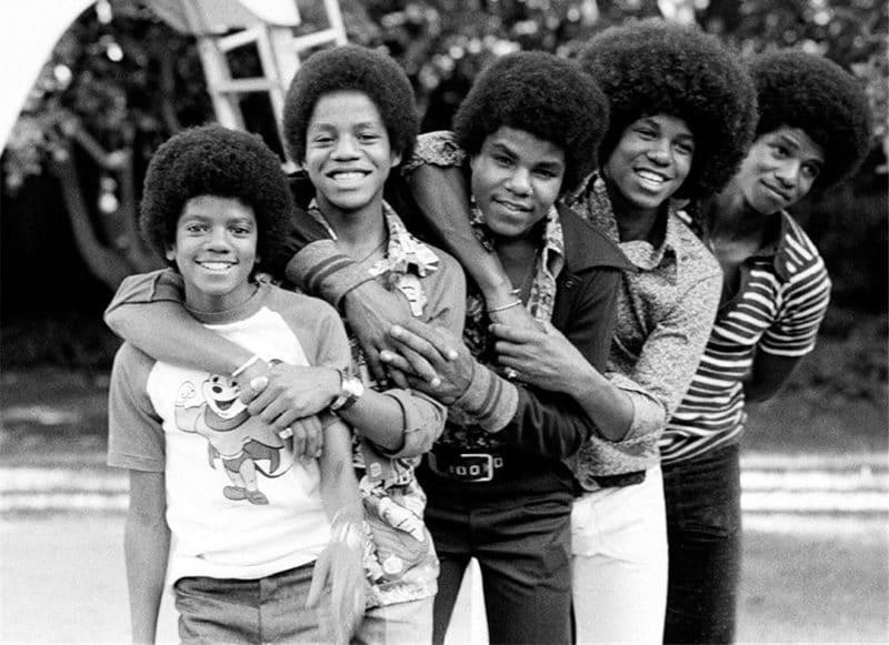 Майкл Джексон в группе The Jackson 5 с братьями