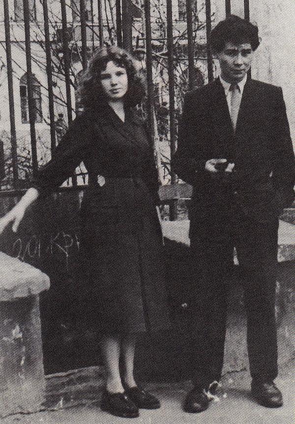 Александр Вампилов с женой Людмилой Добрачевой