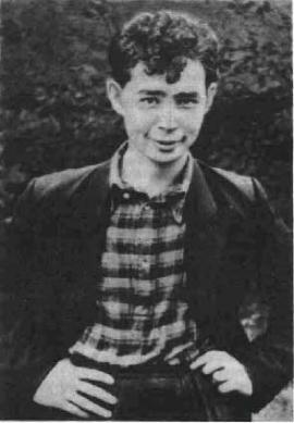 Александр Вампилов в юности