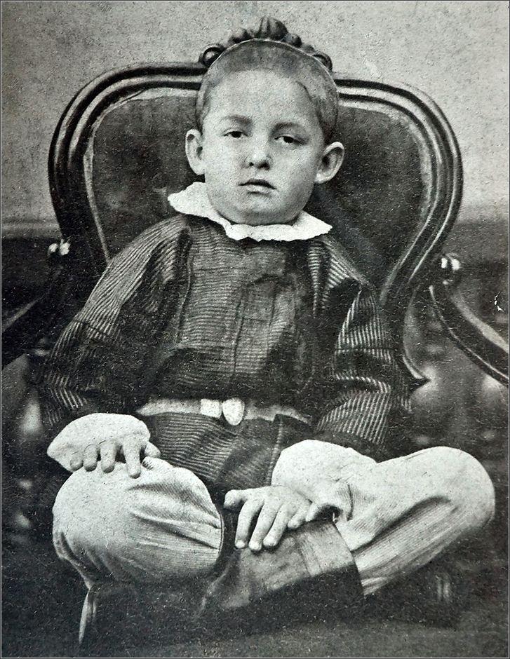 Дмитрий Менделеев в детстве