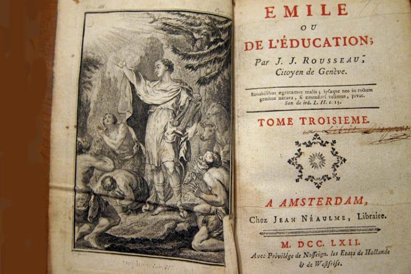 «Эмиль, или о воспитании» Жан-Жака Руссо