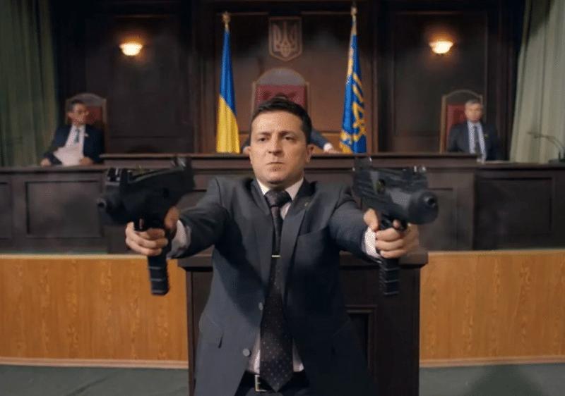 Владимир Зеленский в сериале «Слуга народа»