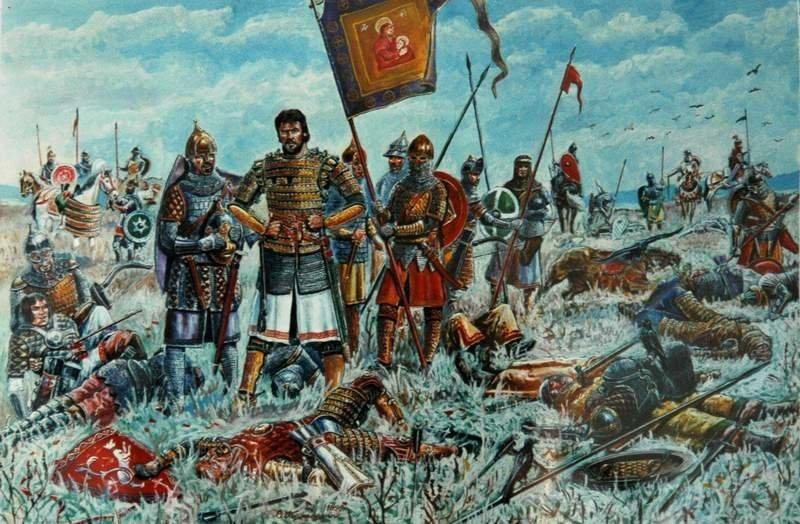 Победа Дмитрия Донского в Куликовской битве