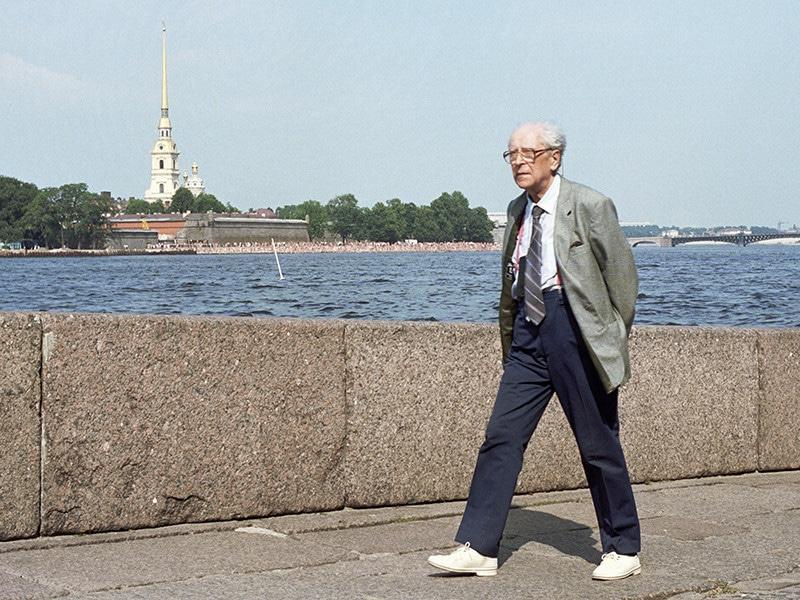 Дмитрий Лихачев в Санкт-Петербурге