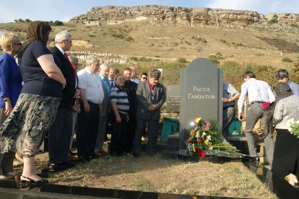 Могила Расула Гамзатова