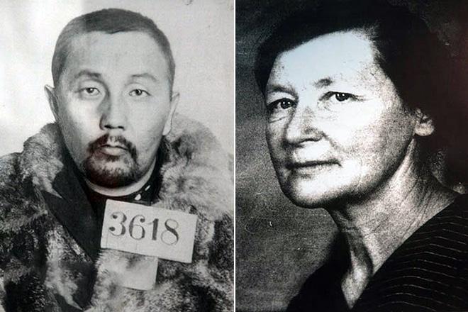 Осужденный отец и мать Александра Вампилова