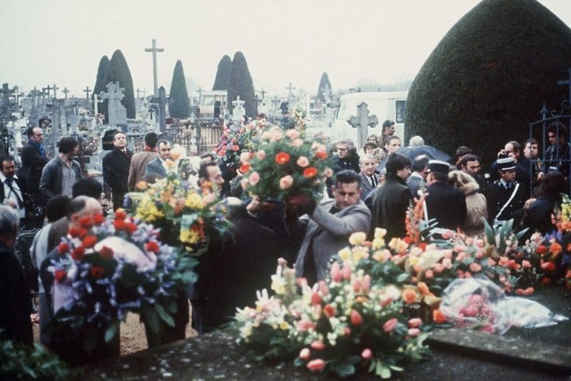 Похороны Луи де Фюнеса