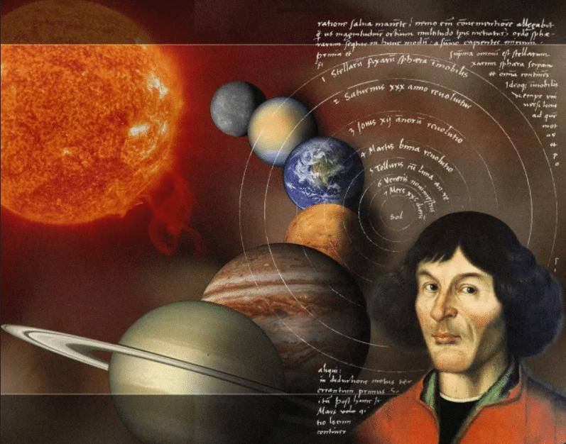 Изучение движения планет Николаем Коперником