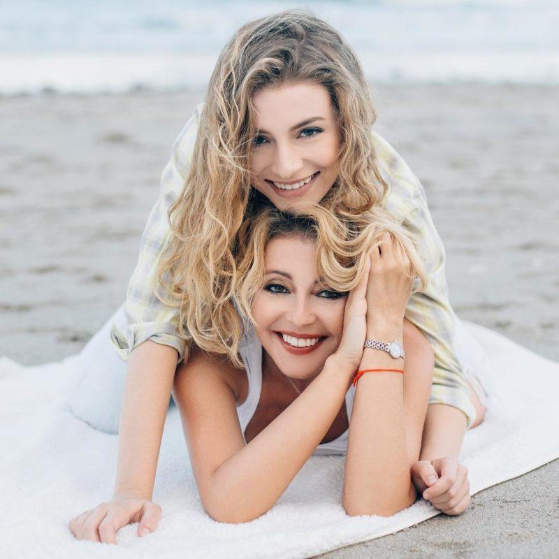 Анжелика Варум с дочкой Лизой
