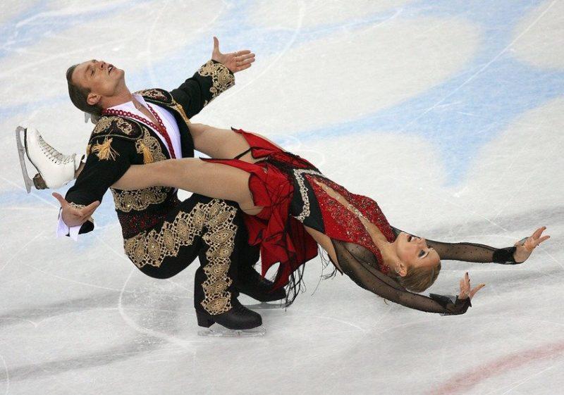 Татьяна Навка на Олимпиаде 2006 года