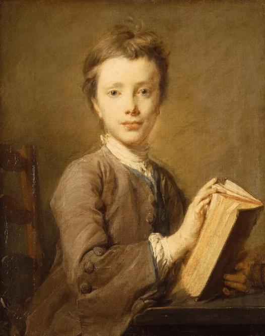 Портрет Джеймса Кука в детстве