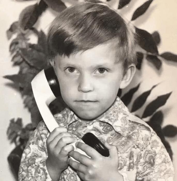 Александр Ревва в детстве