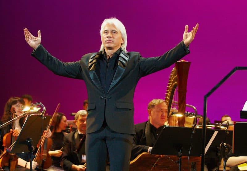 Дмитрий Хворостовский на концерте