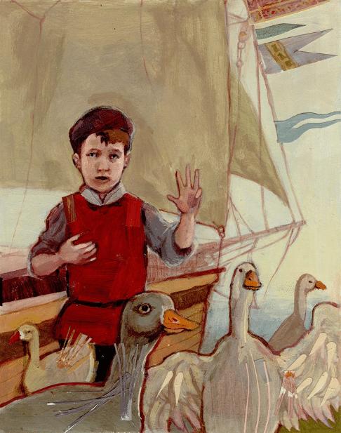 Портрет Марко Поло в детстве