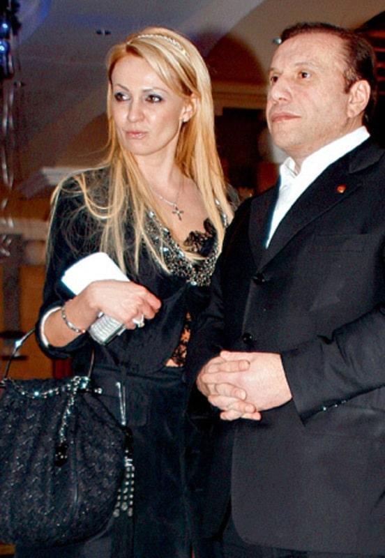 Яна Рудковская с Виктором Батуриным