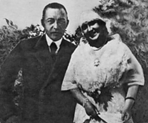 Сергей Рахманинов и Нина Кошиц