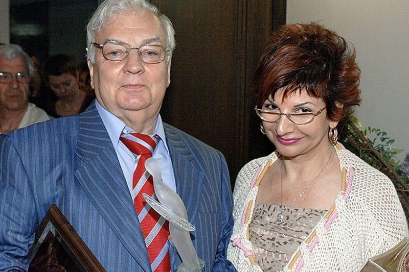 Роксана Бабаян с Михаилом Державиным