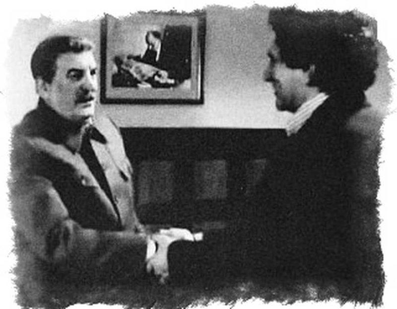Вольф Мессинг со Сталиным