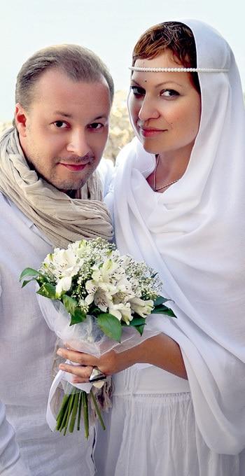 Виктор Петлюра с женой Натальей