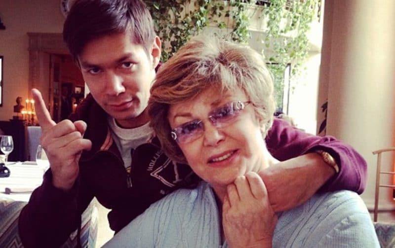Эдита Пьеха с внуком Стасом Пьехой