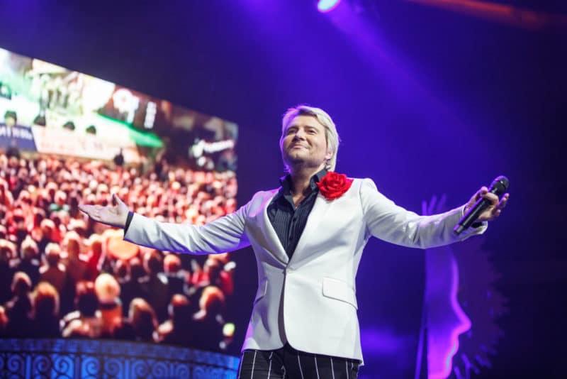 Николай Басков на концерте