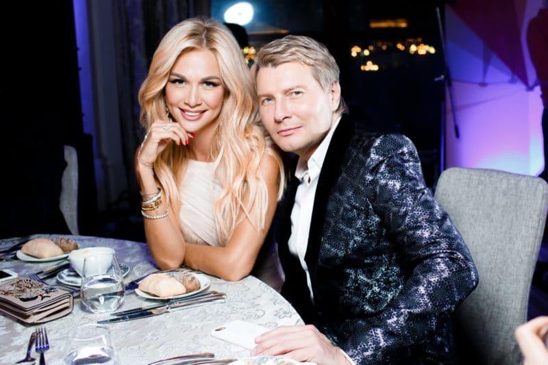 Николай Басков с Викторией Лопыревой