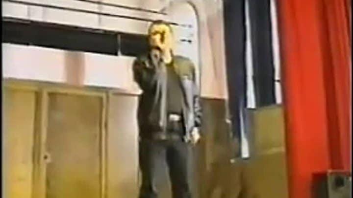 Александр Дюмин на концерте в Крестах