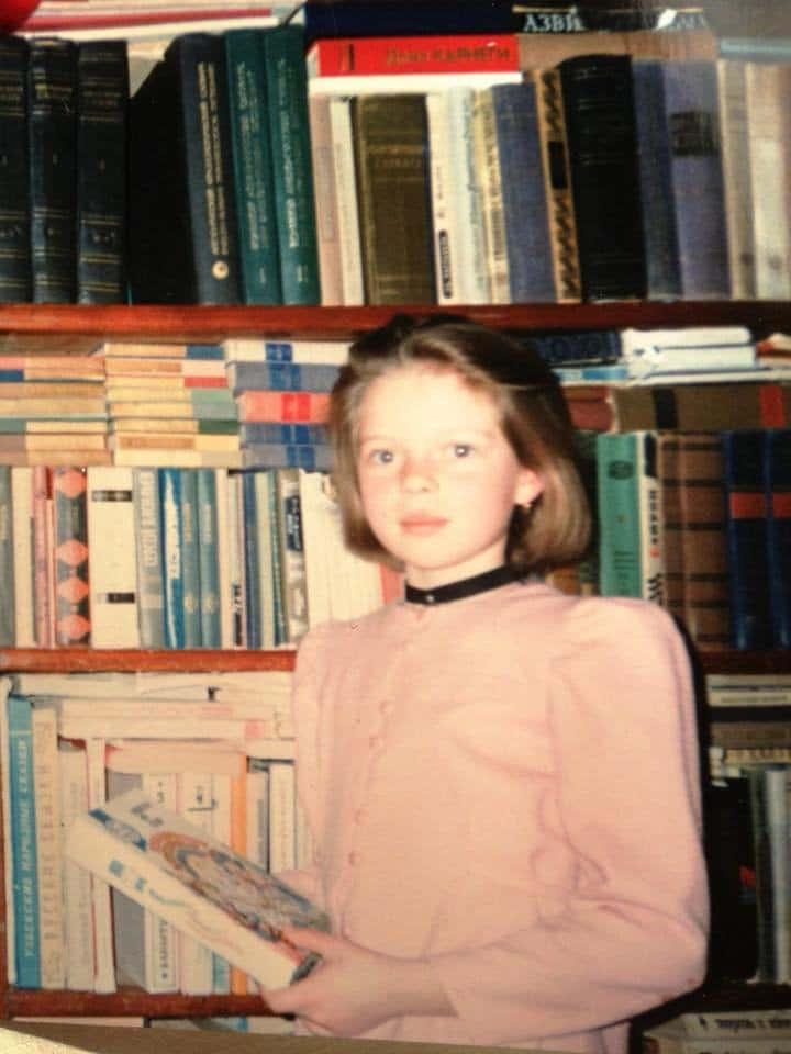 Елена Николаева в детстве