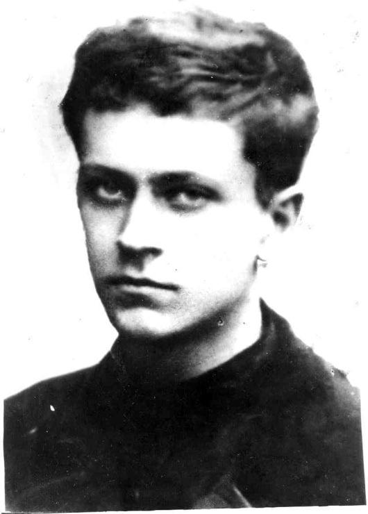 Дмитрий Лихачев в молодости