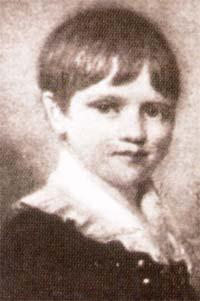 Чарльз Дарвин в детстве