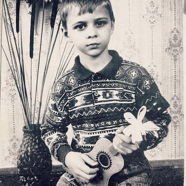 Макс Барских в детстве