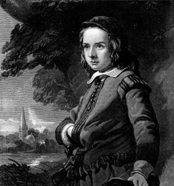Портрет Уильяма Шекспира в детстве