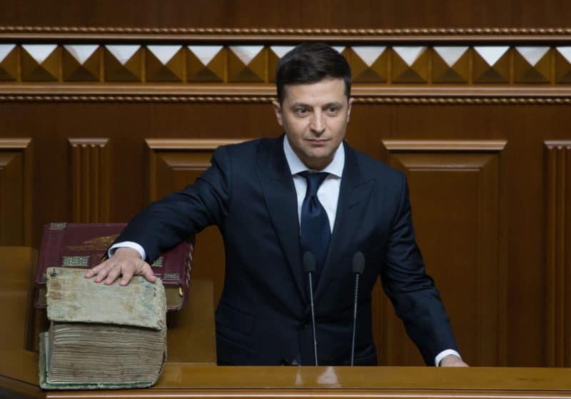 Инаугурация Владимира Зеленского на пост президента Украины