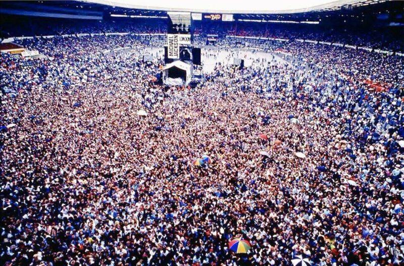 "Майкл Джексон на стадионе ""Динамо"""