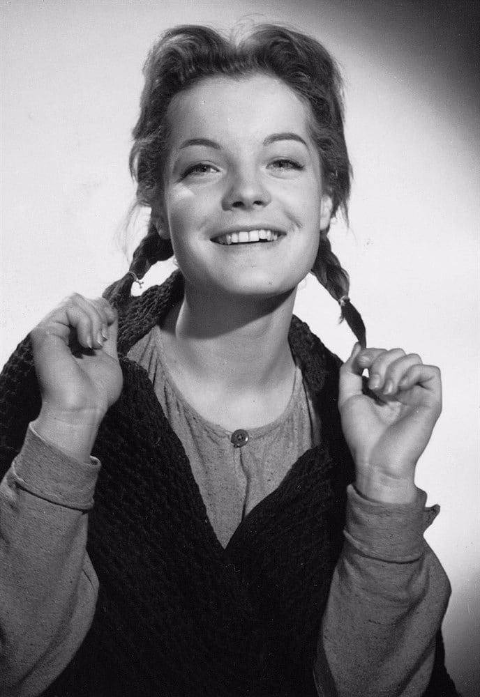 Роми Шнайдер в детстве