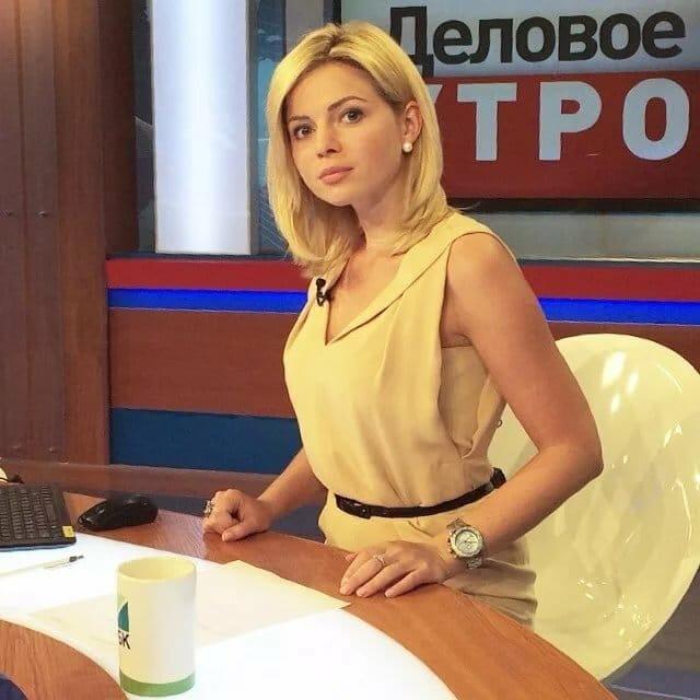 Елена Николаева ведущая программы «Утро России»