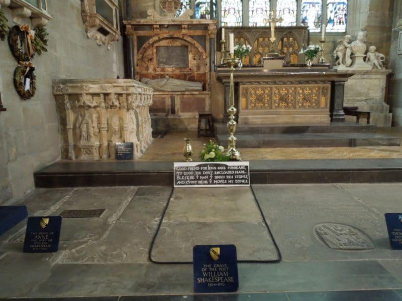 Гробница Уильяма Шекспира