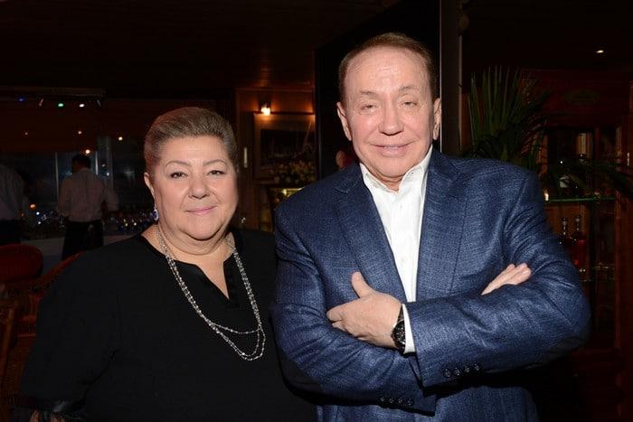 Александр Масляков с женой Светланой Смирновой