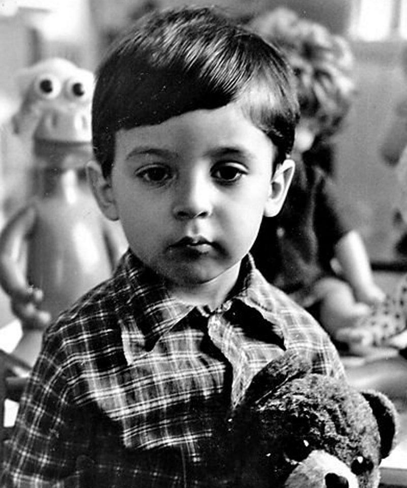 Владимир Зеленский в детстве