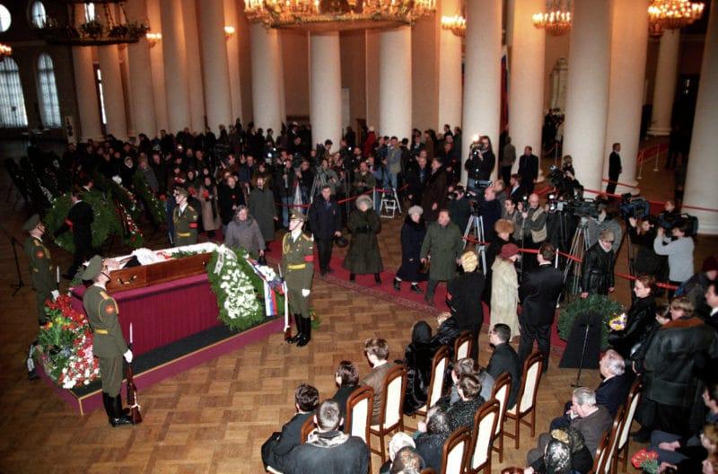 Похороны Анатолия Собчака