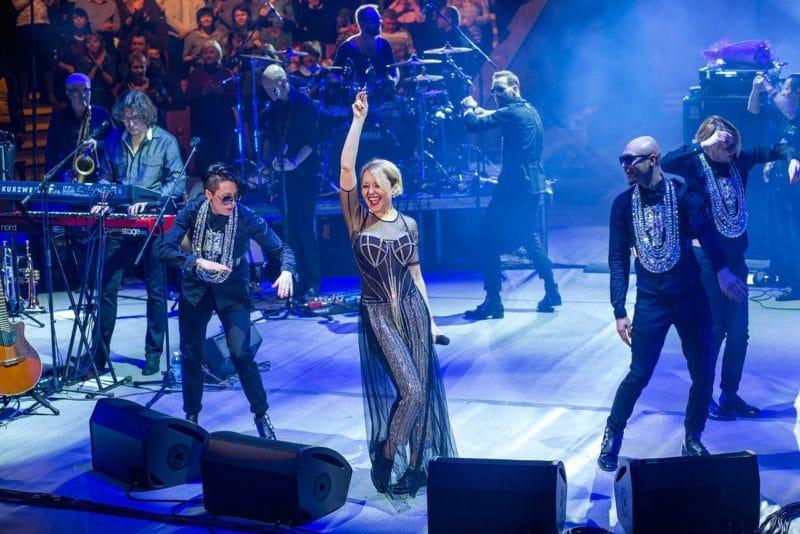 Анжелика Варум на концерте