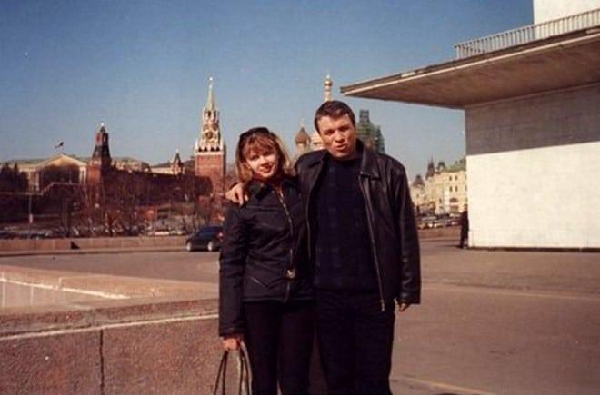 Александр Дюмин с женой