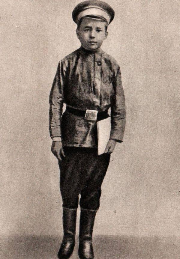 Николай Островский в детстве