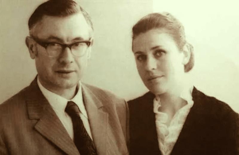 Валентина Толкунова с Юрием Саульским