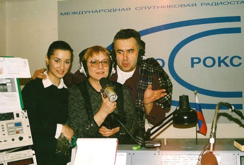 Тина Канделаки и Садальский на радио