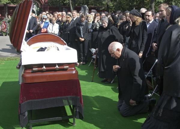 Похороны Сергея Михалкова