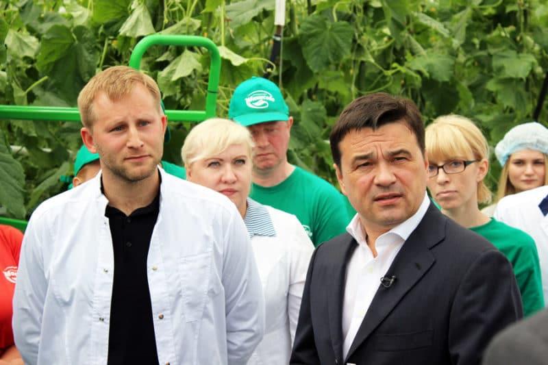 Губернатор Подмосковья и Евгений Ростов
